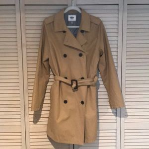 Old Navy trench coat (tall size)!